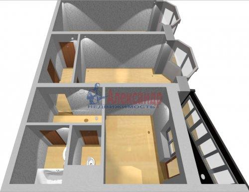 2-комнатная квартира (55м2) на продажу по адресу Маршала Казакова ул., 50— фото 13 из 13