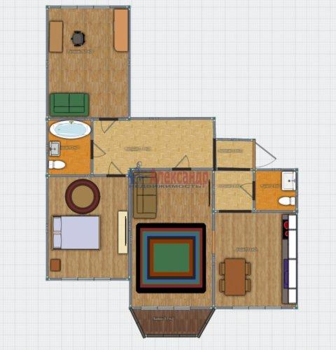 3-комнатная квартира (88м2) на продажу по адресу Тимуровская ул., 23— фото 16 из 16