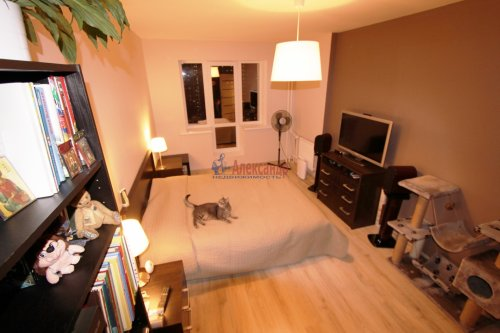 2-комнатная квартира (58м2) на продажу по адресу Парголово пос., Михаила Дудина ул., 25— фото 2 из 9