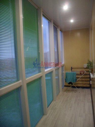 1-комнатная квартира (38м2) на продажу по адресу Мурино пос., Охтинская аллея, 6— фото 4 из 6