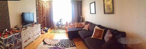 2-комнатная квартира (72м2) на продажу по адресу Науки пр., 63— фото 4 из 18