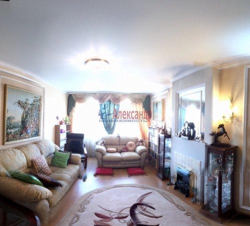 3-комнатная квартира (63м2) на продажу по адресу Приладожский пгт., 5— фото 1 из 12