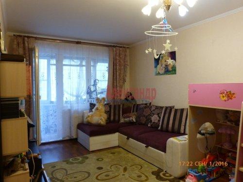 1-комнатная квартира (41м2) на продажу по адресу Бухарестская ул., 156— фото 1 из 9