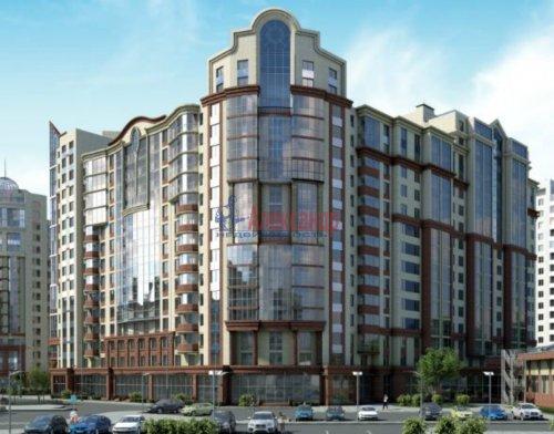 1-комнатная квартира (37м2) на продажу по адресу Маршала Блюхера пр., 9— фото 2 из 3