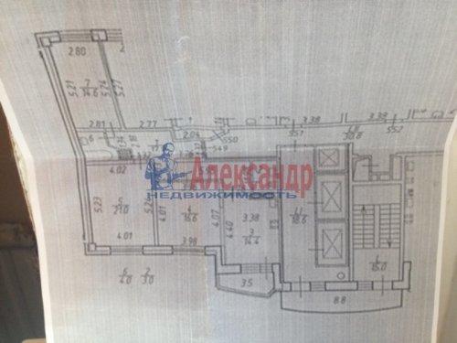 3-комнатная квартира (94м2) на продажу по адресу Луначарского пр., 11— фото 2 из 10