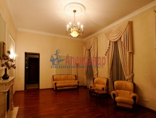 4-комнатная квартира (176м2) на продажу по адресу Кутузова наб., 18— фото 3 из 11