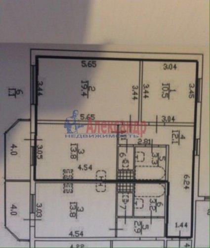 2-комнатная квартира (60м2) на продажу по адресу Шлиссельбургский пр., 36— фото 3 из 3