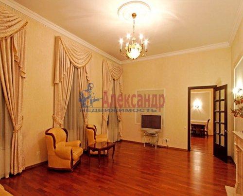 4-комнатная квартира (176м2) на продажу по адресу Кутузова наб., 18— фото 4 из 11