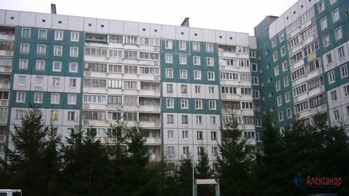 1-комнатная квартира (46м2) на продажу по адресу Искровский пр., 2— фото 4 из 13