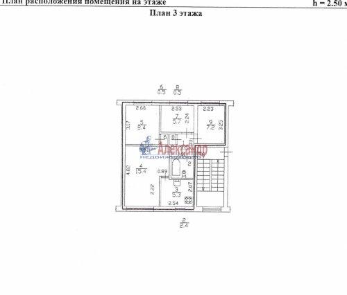 1-комнатная квартира (33м2) на продажу по адресу Красное Село г., Кингисеппское шос., 6— фото 8 из 8