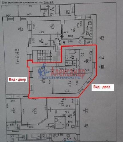 2-комнатная квартира (61м2) на продажу по адресу Спасский пер., 9— фото 1 из 8