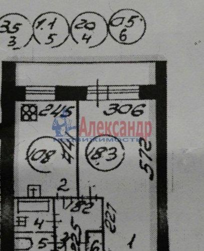 1-комнатная квартира (37м2) на продажу по адресу Гражданский пр., 88— фото 2 из 2