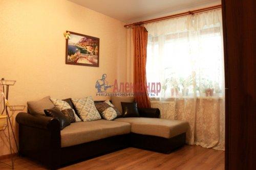1-комнатная квартира (28м2) на продажу по адресу Испытателей пр., 15— фото 1 из 7