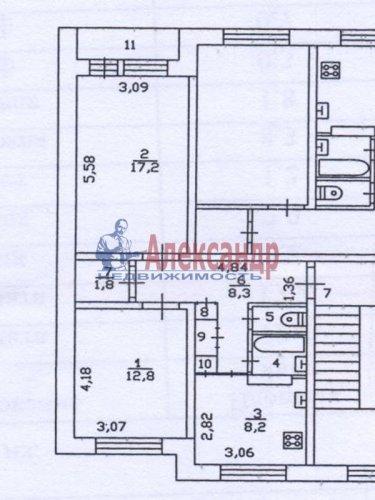 2-комнатная квартира (53м2) на продажу по адресу Почап дер., Солнечная ул., 20— фото 2 из 15