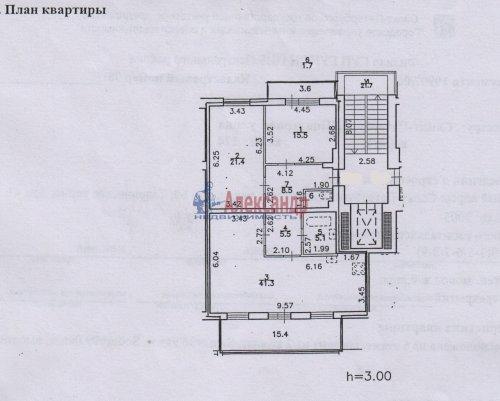 3-комнатная квартира (99м2) на продажу по адресу Шпалерная ул., 60— фото 4 из 9