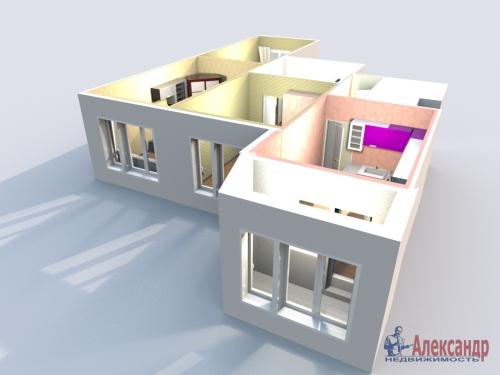 3-комнатная квартира (77м2) на продажу по адресу Маршала Казакова ул., 44— фото 36 из 37