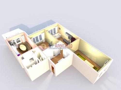 3-комнатная квартира (77м2) на продажу по адресу Маршала Казакова ул., 44— фото 37 из 37