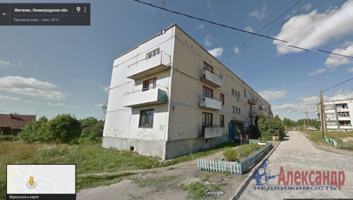 2-комнатная квартира (50м2) на продажу по адресу Житково пос., 23— фото 1 из 4