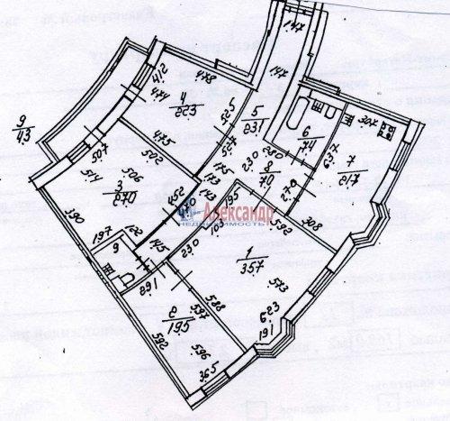 4-комнатная квартира (168м2) на продажу по адресу Морская наб., 35— фото 59 из 59