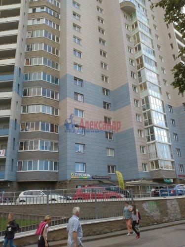 1-комнатная квартира (46м2) на продажу по адресу Науки пр., 17— фото 1 из 21