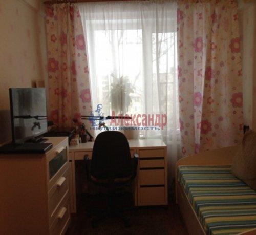 2-комнатная квартира (45м2) на продажу по адресу Витебский пр., 23— фото 4 из 8