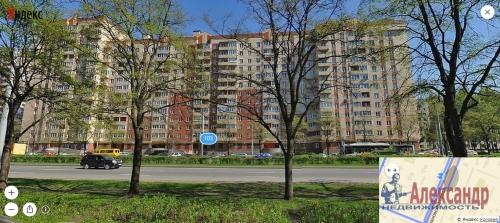 1-комнатная квартира (48м2) на продажу по адресу Светлановский пр., 103— фото 1 из 6