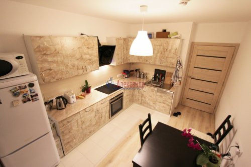 2-комнатная квартира (58м2) на продажу по адресу Парголово пос., Михаила Дудина ул., 25— фото 5 из 9
