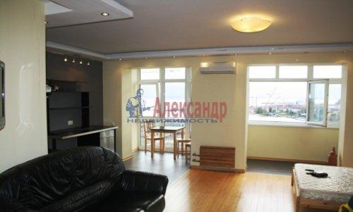 1-комнатная квартира (50м2) на продажу по адресу Савушкина ул., 140— фото 3 из 5