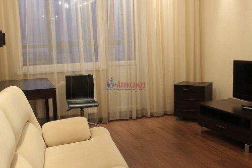 1-комнатная квартира (46м2) на продажу по адресу Науки пр., 17— фото 3 из 12