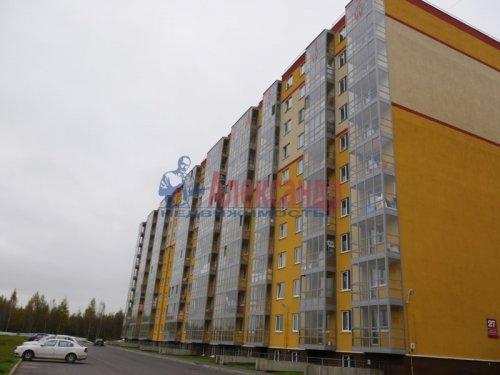 1-комнатная квартира (40м2) на продажу по адресу Всеволожск г., Доктора Сотникова ул., 25— фото 1 из 4