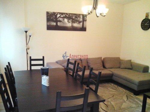 3-комнатная квартира (81м2) на продажу по адресу Мурино пос., Менделеева бул., 7— фото 1 из 24