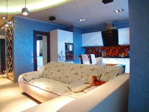 1-комнатная квартира (128м2) на продажу по адресу Приморский пр., 137— фото 3 из 19