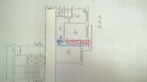 2-комнатная квартира (50м2) на продажу по адресу Художников пр., 9— фото 2 из 9