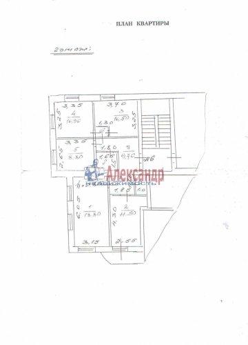 4-комнатная квартира (76м2) на продажу по адресу Новоселье пос., 150— фото 12 из 13