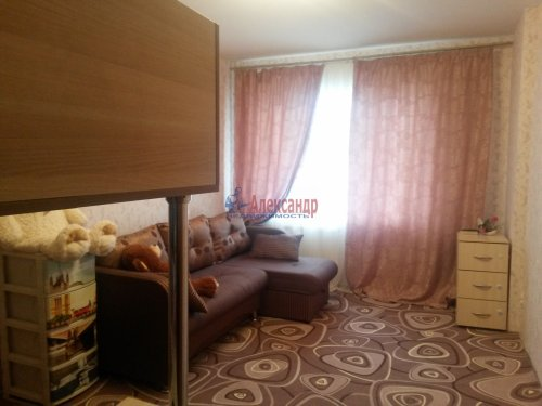 1-комнатная квартира (40м2) на продажу по адресу Юнтоловский пр., 47— фото 4 из 11