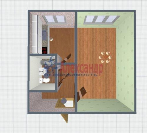 1-комнатная квартира (29м2) на продажу по адресу Выборг г., Приморская ул., 6— фото 2 из 14