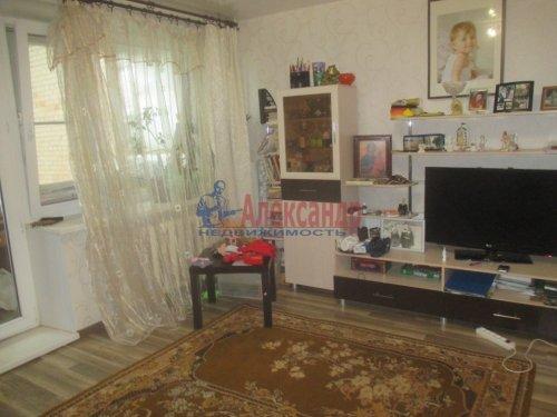 1-комнатная квартира (37м2) на продажу по адресу Малое Верево дер., 46— фото 4 из 8