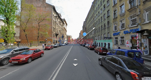 2-комнатная квартира (52м2) на продажу по адресу Рыбацкая ул., 6/8— фото 2 из 6