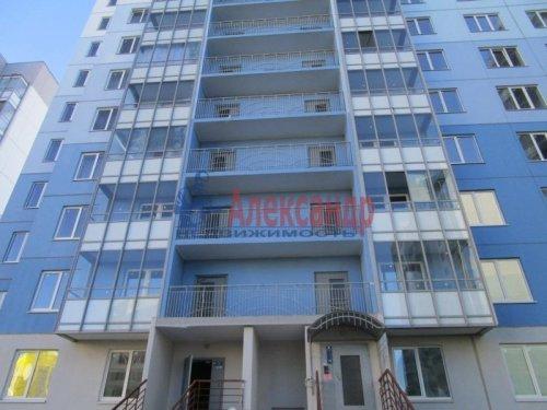 1-комнатная квартира (36м2) на продажу по адресу Всеволожск г., Малиновского ул., 12— фото 1 из 5
