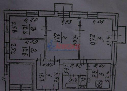 4-комнатная квартира (93м2) на продажу по адресу Большеохтинский пр., 39— фото 2 из 3