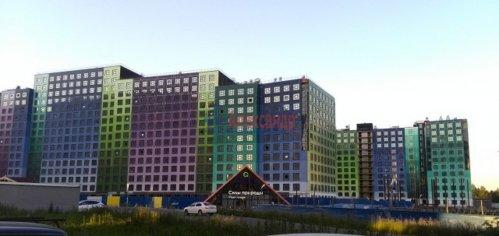 1-комнатная квартира (44м2) на продажу по адресу Мурино пос., Шоссе в Лаврики ул., 69— фото 1 из 3