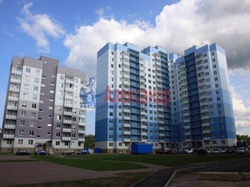 1-комнатная квартира (36м2) на продажу по адресу Всеволожск г., Малиновского ул., 12— фото 3 из 5