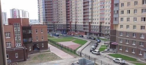 1-комнатная квартира (35м2) на продажу по адресу Мурино пос., Новая ул., 7— фото 2 из 7
