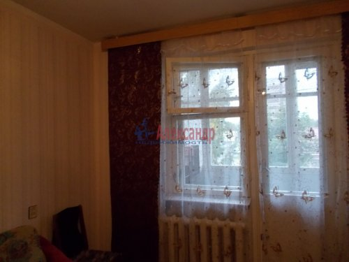2-комнатная квартира (45м2) на продажу по адресу Бокситогорск г., Заводская ул., 6— фото 1 из 1