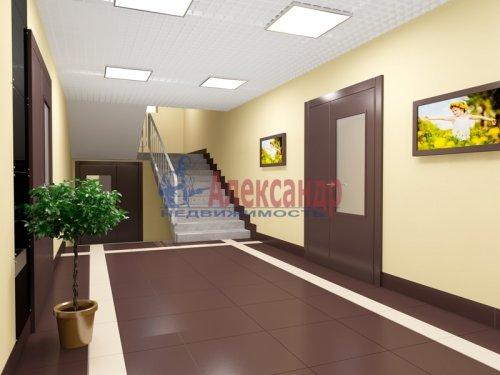 1-комнатная квартира (33м2) на продажу по адресу Сертолово г., Черная речка мкр, 1— фото 2 из 3