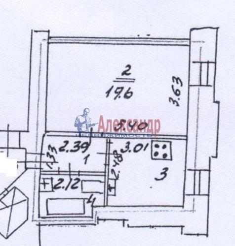 1-комнатная квартира (35м2) на продажу по адресу Декабристов ул., 29— фото 12 из 18