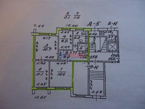 4-комнатная квартира (76м2) на продажу по адресу Ольховая ул., 14— фото 2 из 11