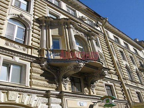 3-комнатная квартира (108м2) на продажу по адресу Финский пер., 6— фото 1 из 14