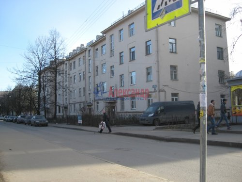 2-комнатная квартира (50м2) на продажу по адресу Елизарова пр., 10— фото 1 из 8