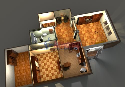 3-комнатная квартира (140м2) на продажу по адресу Приморский пр., 59— фото 1 из 35